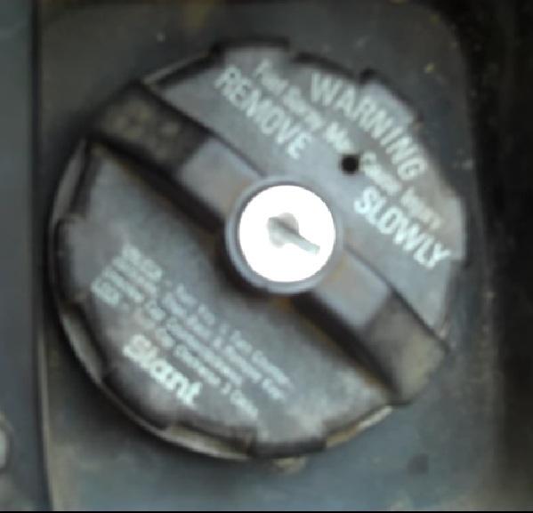 Remove Locking Gas Cap