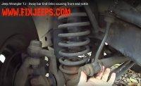 Jeep Wrangler TJ End Link