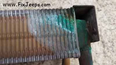 Jeep Wrangler Heater Core Leak