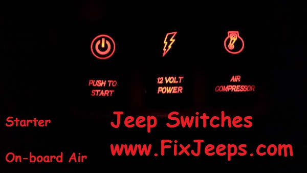 Jeep Switches - Starter