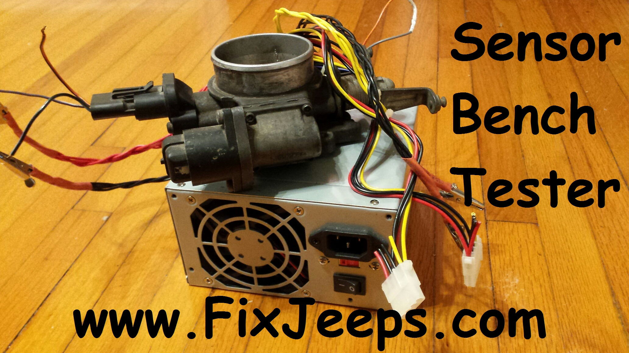 Bench top Jeep sensor tester