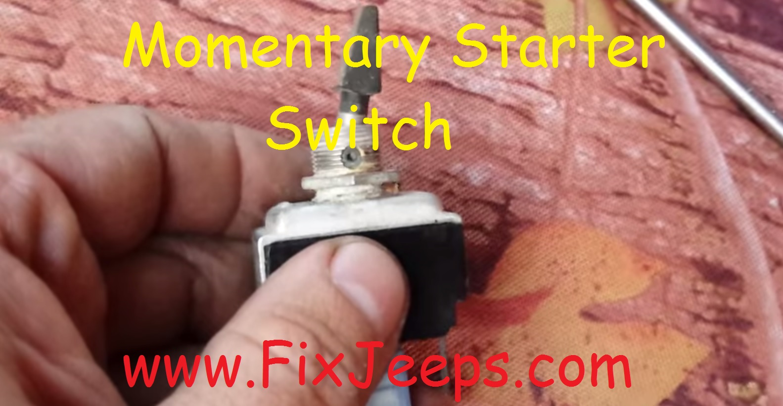 Rocker Switch Starter