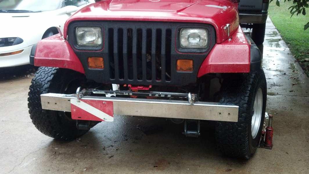 Jeep YJ Grill mod